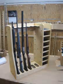 diy plans for a gun rack vertical plans free