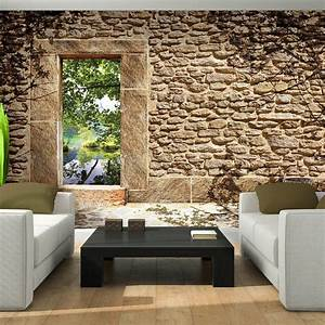 Alte Tapeten Ablösen : poster bild tapeten fototapete wandbild ziegel wand ~ Watch28wear.com Haus und Dekorationen