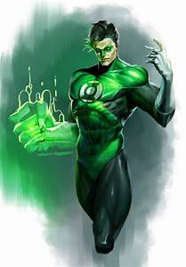 ArtStation - Green Lantern Fan Art, 재문 윤 | M-Char_Ground ...