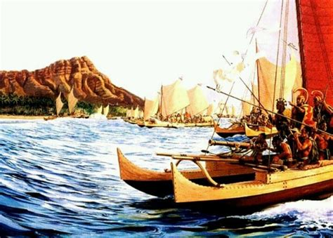 Legend Boats History by Hawai Ian History King Kamehameha S War Canoe With