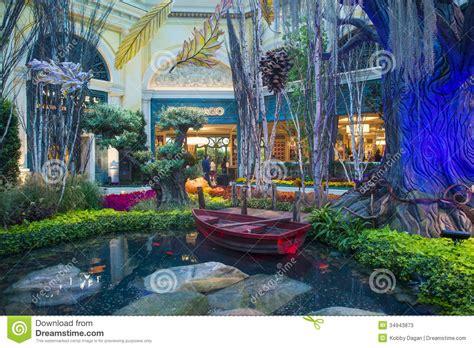 Bellagio Hotel Conservatory & Botanical Gardens Editorial