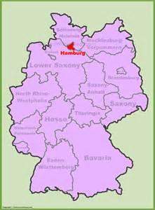 Hamburg Germany Location Map