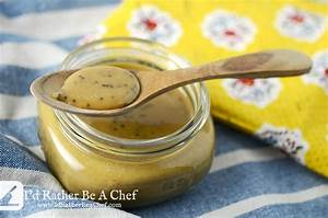 Honey Mustard Sauce Recipe   I'd Rather Be A Chef