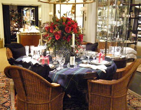 ralph lauren christmas table   seasons