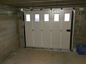 porte de garage coulissante motorisee tarif palzoncom With porte garage coulissante motorisée