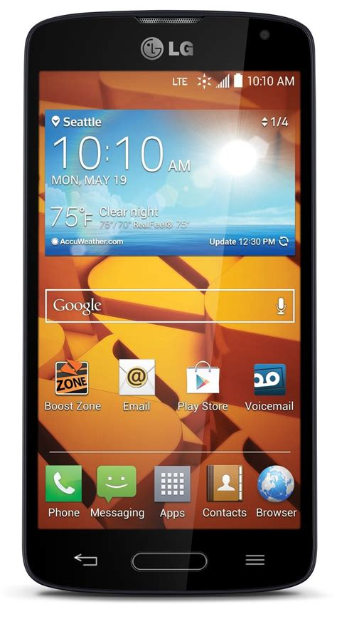 boost mobile android phones lg volt black for boost mobile no contract android smart