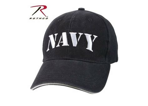 Us Navy Blue White Veteran Sailor Low Profile Baseball Hat