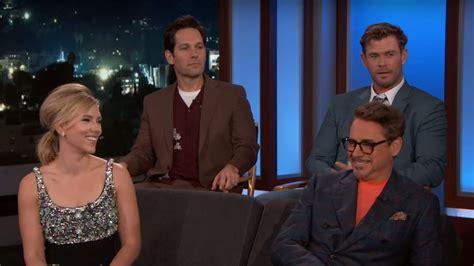 avengers endgame cast explain  bathroom breaks