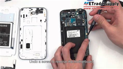 replacement for samsung galaxy samsung galaxy note 2 disassembly take apart tear