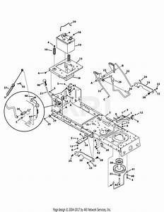 Troy Bilt 13al78kt066 Tb46  2015  Parts Diagram For Frame