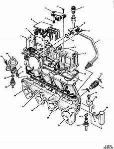 Chevy S10  Fuel Rail Diagram 1995 S 10