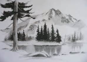 Easy Pencil Drawings Landscape
