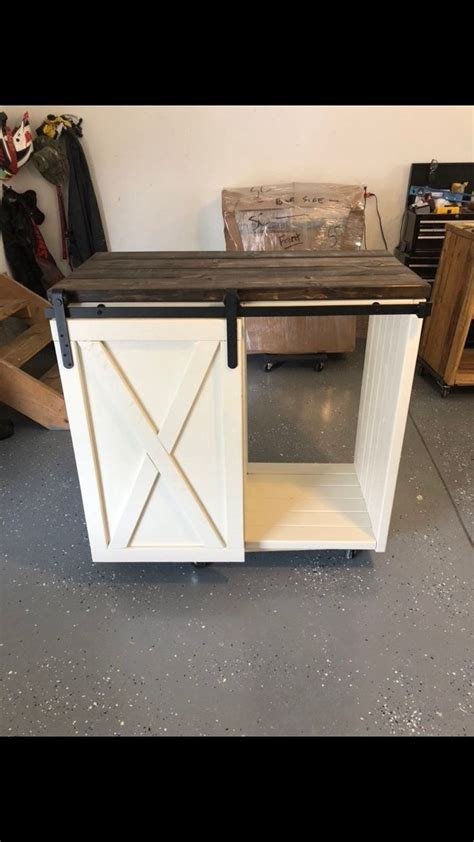 Check out our mini fridge bar selection for the very best in unique or custom, handmade pieces from our furniture shops. Mini Fridge Cabinet with single door slider / Modern farmhouse   Etsy   Mini fridge bar, Mini ...