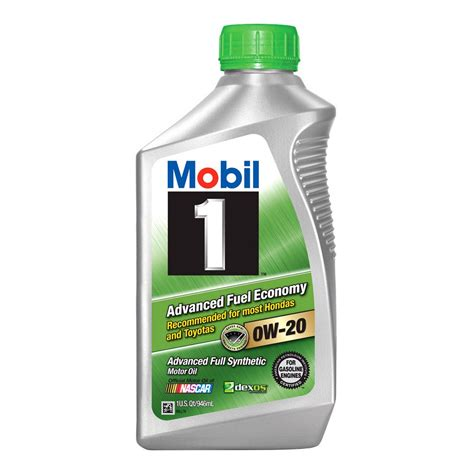 Acdelco® 88861465  Sae 0w20 Mobil 1 Afe Motor Oil