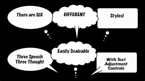 final cut pro  fcpx generator cartoon speech bubbles