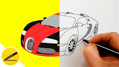 They are circles with another circle inside of them. How to Draw a Car - Bugatti Veyron ★ - YouTube