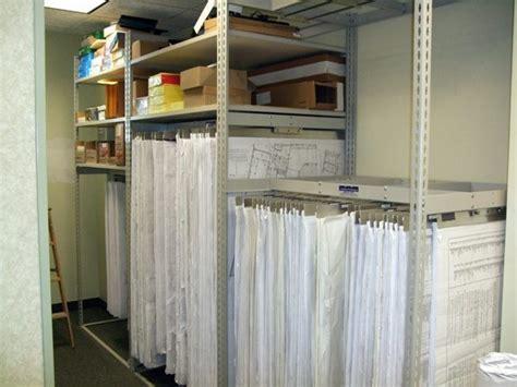 blueprint space saving file storage systems big blueprint hanger