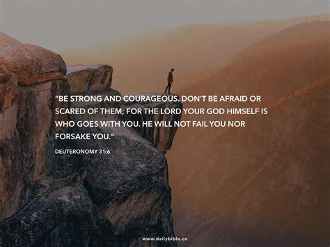 Deuteronomy 316 Daily Bible Inspirations