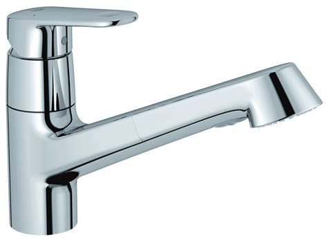 mitigeur vier europlus avec douchette extractible grohe