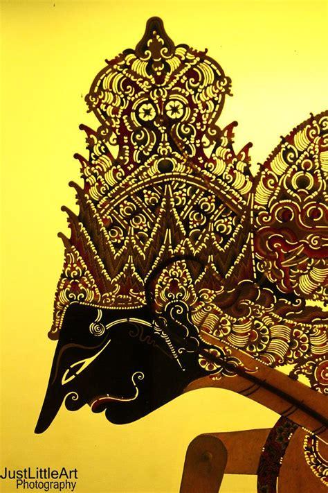 wayang shadow puppets   javanese theatre javanese