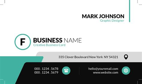 business card templates  template downloads