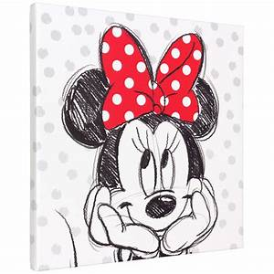 Minnie Mouse Wandbilder. minnie mouse 70 584 digitales vlies ...