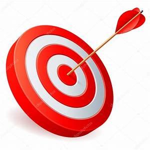 Target with arrow. — Stock Vector © timurock #8547534