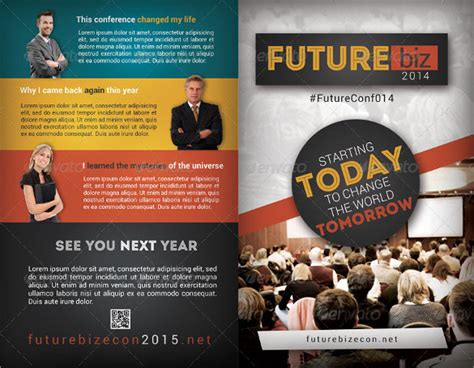Conference Brochure Templates by 14 Conference Brochure Templates Sle Templates