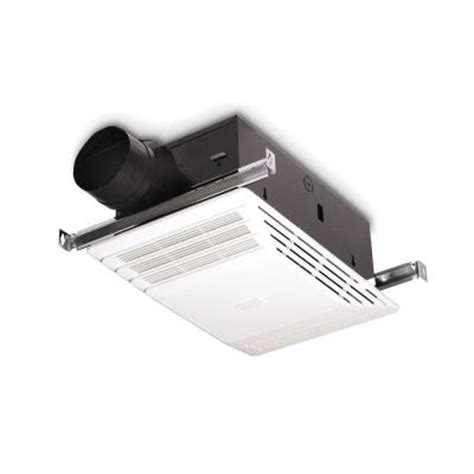 Home Depot Bathroom Exhaust Fan Heater by Broan 70 Cfm Ceiling Exhaust Bath Fan With Heater