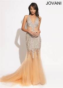 jovani 89650 beaded v neck gown d1j1960 19800 With jovani robe