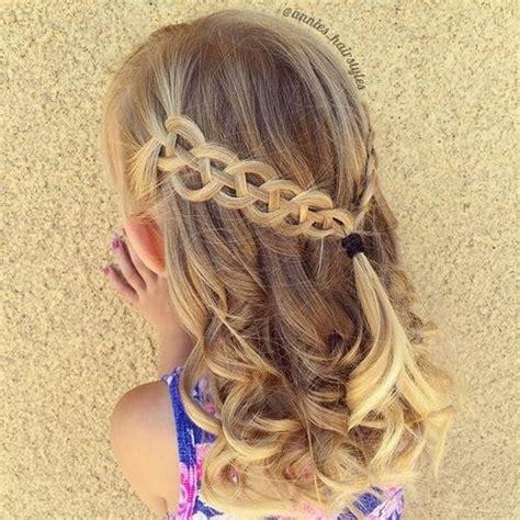 magnifiques coiffures dete pour petites filles coiffure