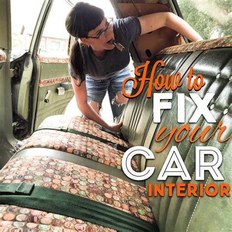 Diy Car Upholstery Repair by Best 25 Car Interior Decor Ideas On Diy Car