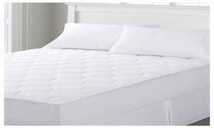 quilted waterproof mattress pad groupon With best quilted mattress pad