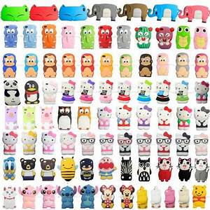3D Cute Cartoon Animals Silicon Soft Cover Case For Apple ...