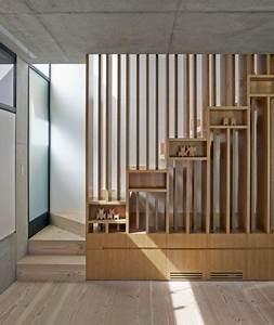 Holztreppen Geländer Selber Bauen : einfamilienhaus bauen interieur holz treppe gel nder leisten flur pinterest treppe haus ~ Markanthonyermac.com Haus und Dekorationen