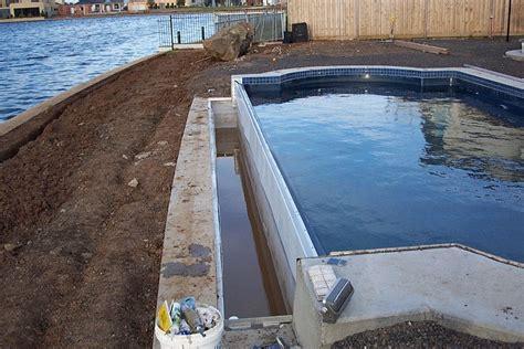 infinity pools cost above ground infinity edge pool round designs