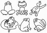 Pond Coloring Animals Frogs Froggy Frog Goes Preschool Printable Theme Worksheets Activities Number Animal Duck Luxury Math Viatico Prek Drawing sketch template