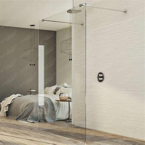 parete doccia walk in box doccia it parete doccia 140 cm in vetro trasparente