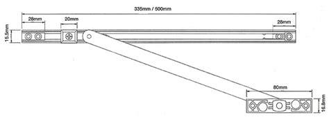upvc door restrictor arm 90 176 135 176 degree steel stay hold