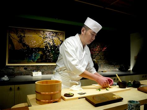 le chef cuisine sushi ginza onodera the sushi experience in