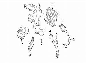 Cadillac Escalade Ext Sensor  Knock  Assembly  Engine