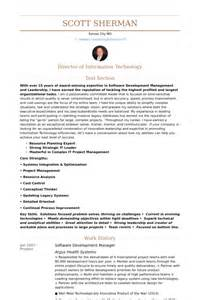 Application Development Manager Resume by Software Development Manager Resume Sles Visualcv