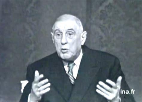 Il y a 50 ans, Charles de Gaulle décidait de retirer la ...
