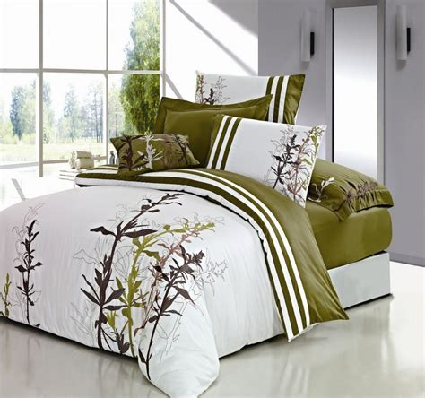 Spring Flowers 7 Piece Duvet Cover Set Green Home Apparel
