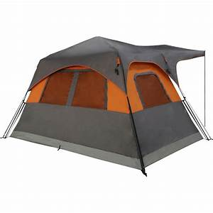 Hinterland 6 Person Instant Tent With Awning Instructions