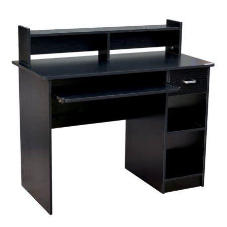 Office Desk Accessories Walmart by Homegear Home Office 41 Computer Desk Black Walmart