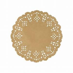 Set De Table : set de table dentelle kraft naturel x 10 ~ Teatrodelosmanantiales.com Idées de Décoration