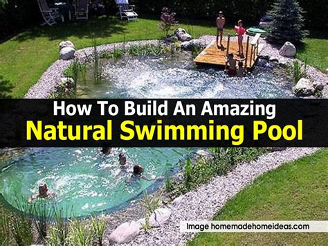 How To Build An Amazing Natural Swimming Pool