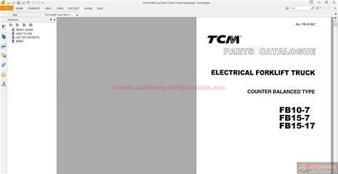Wrg Tcm Forklift Distributor Wiring Diagram