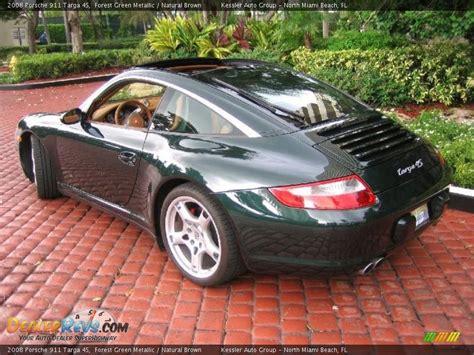 Forest Green Metallic 2008 Porsche 911 Targa 4s Photo #2